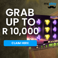 Claim R10 000.00 worth of Welcome Bonus plus 100 Free Spins